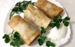 Блинчики с мясом и рисом: рецепт самый вкусный пошагово с фото