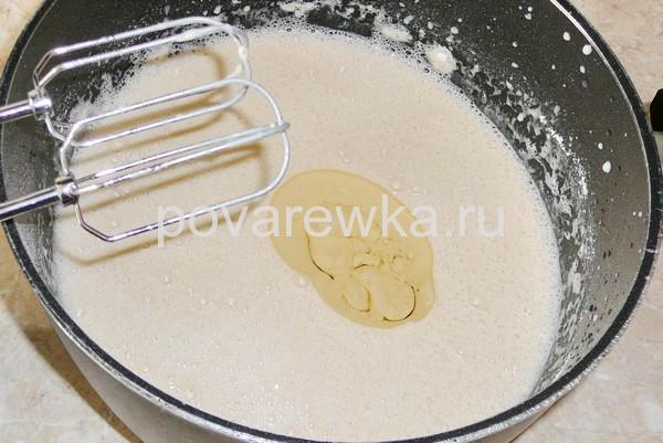 Блины на молоке тонкие с дырочками: рецепт с растительным маслом