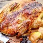 Утка с яблоками в духовке: пошаговый рецепт с фото