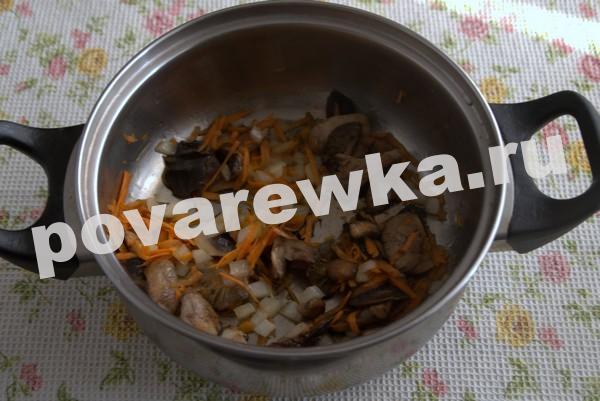Грибной суп из шампиньонов: с лапшой