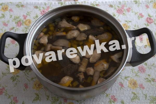 Грибной суп из шампиньонов: с лапшой и картофелем