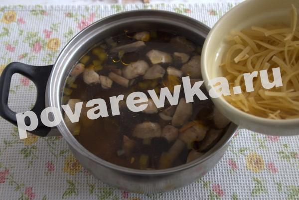 Грибной суп из шампиньонов: пошаговый рецепт простой
