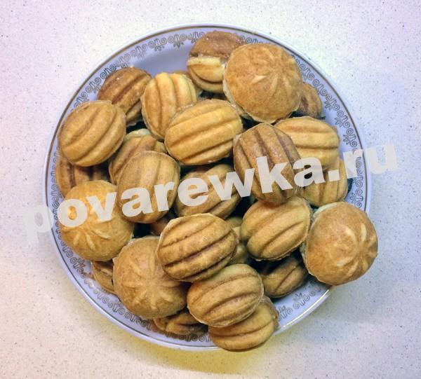 Орешки со сгущенкой: классический рецепт самый вкусный