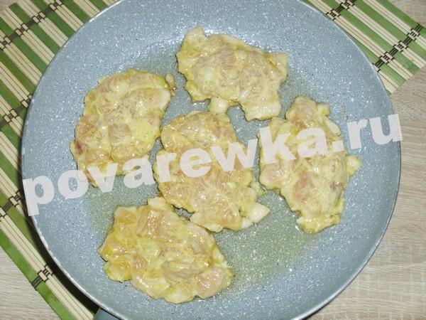 Рубленные котлеты из куриного филе: на сковороде