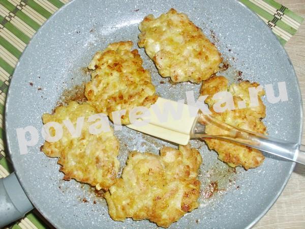 Рубленные котлеты из куриного филе: жареные на сковороде