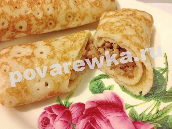 Блины на кефире: рецепт тонкие с дырочками пошагово