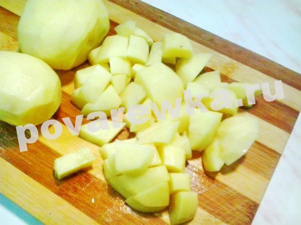 Штрудли с мясом и картофелем: с капустой