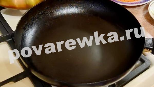 жаркое по домашнему из свинины с картошкой на сковороде