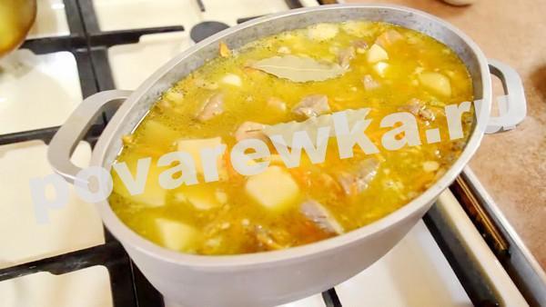 жаркое по домашнему из свинины с картошкой вкусно