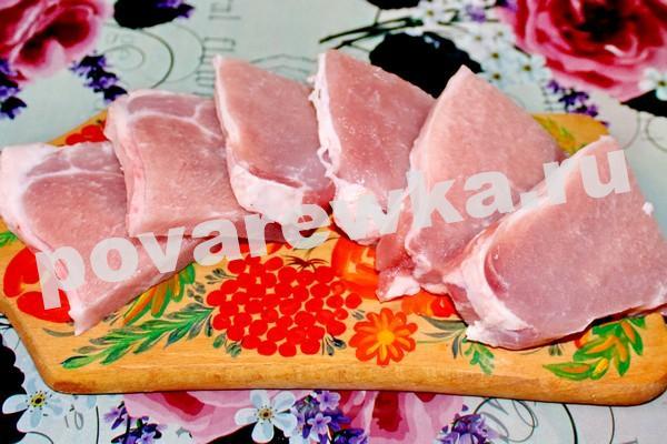 Отбивные из свинины: рецепт с фото на сковороде
