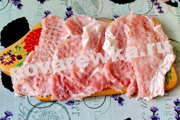 Отбивные из свинины: рецепт с фото