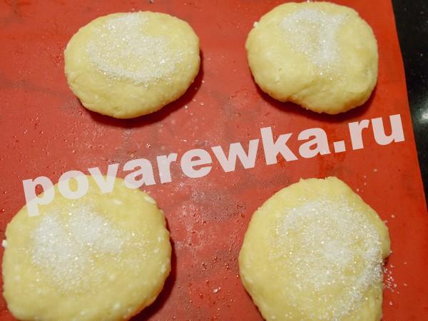 Творожные булочки как пух за 5 минут: рецепт с сахаром