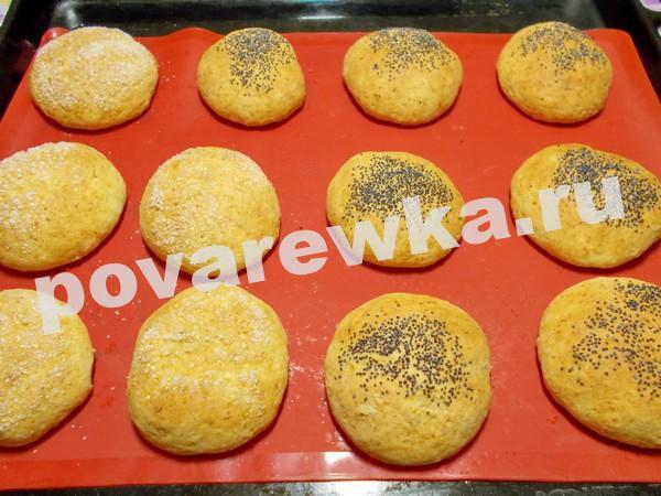 Творожные булочки как пух за 5 минут: рецепт в духовке