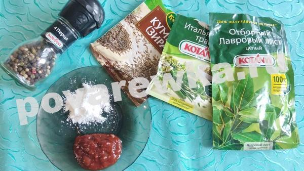 Фасолевый суп: ингредиенты