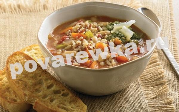 Фасолевый суп: рецепт из красной фасоли без мяса