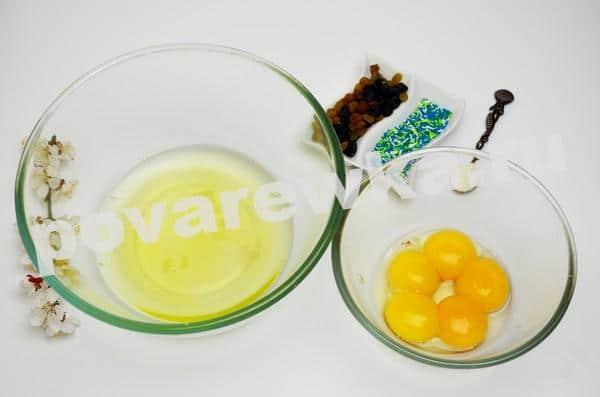Пасхальный кулич без дрожжей: с яицами