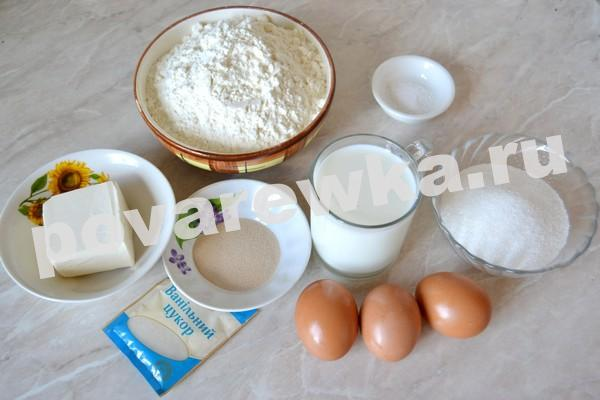 Пасхальный кулич: ингредиенты