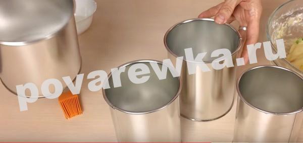 Творожный кулич на Пасху: формы для выпекания