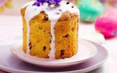 Творожный кулич на Пасху: пошаговый рецепт в духовке с фото