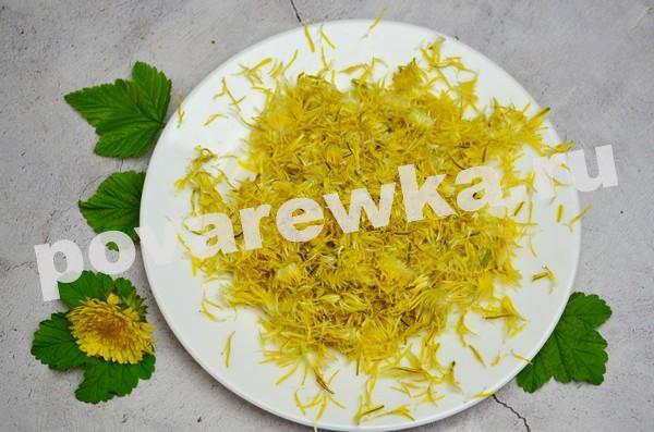 Варенье из одуванчиков: рецепт с фото с лимоном и семенами чиа