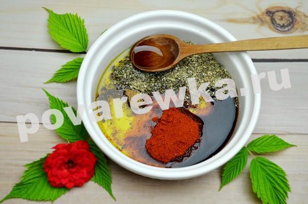 Соус для приготовления буженины в духовке