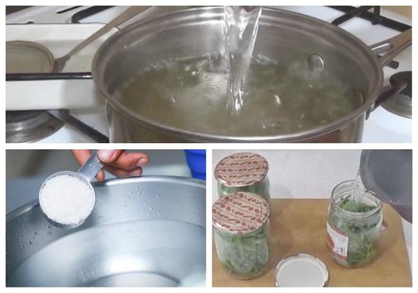 Маринованные стрелки чеснока: рецепт на зиму с фото