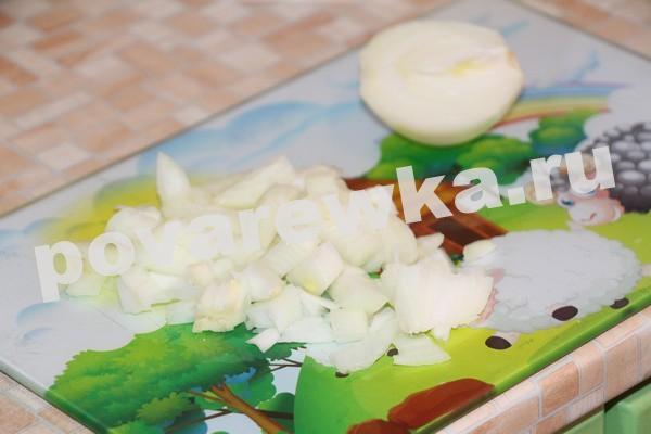Суп-пюре с тыквой и луком
