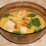 Тыквенный суп-пюре: классический рецепт