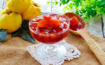 Варенье из айвы с лимоном: самый вкусный рецепт