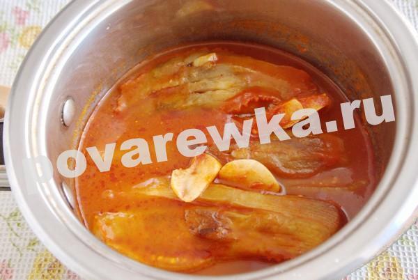Баклажаны по-грузински вкусный рецепт классический