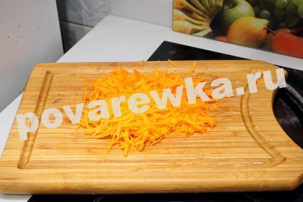 Фарш для ленивых голубцов с морковью