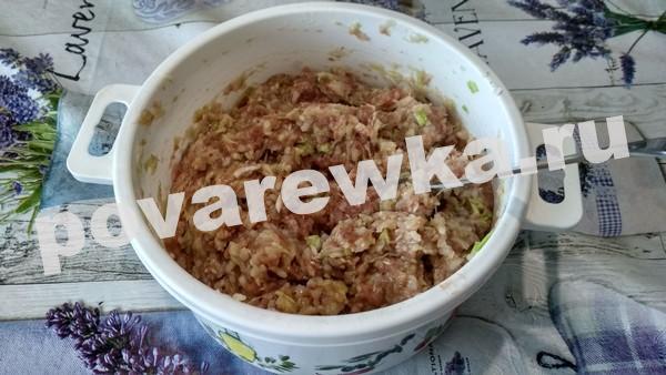 Ленивые голубцы: рецепт фарша с рисом и яйцом