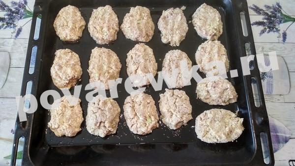 Ленивые голубцы в сухарях в духовке