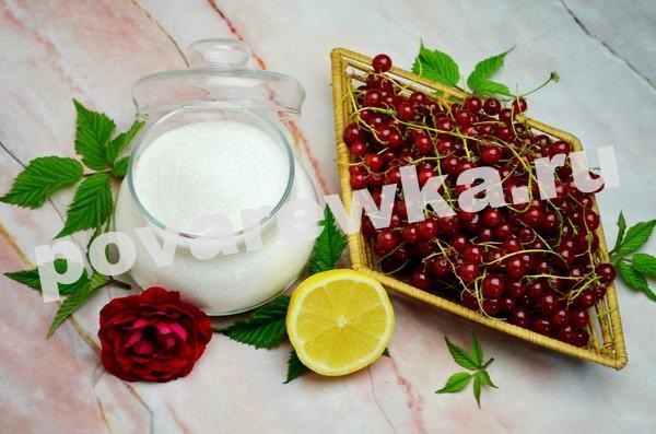 Варенье из красной смородины на зиму: простой рецепт