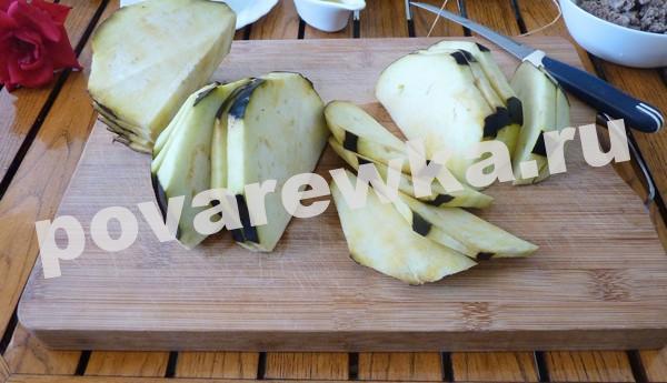 Овощи порезать на кусочки