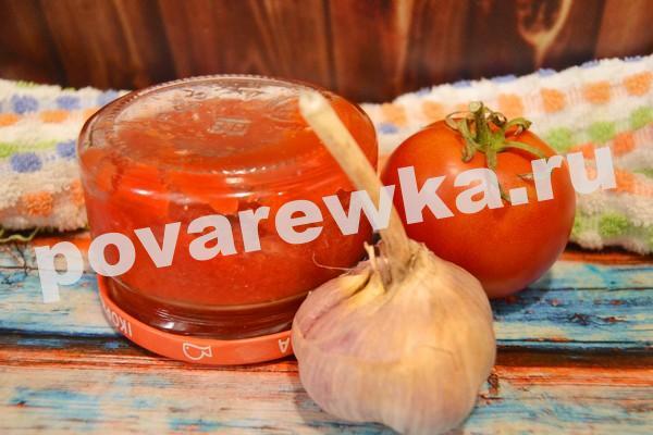 соус из томатов в банке
