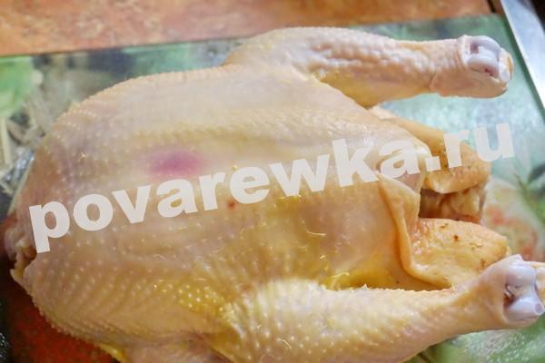 Курица в духовке с картошкой: рецепт с фото