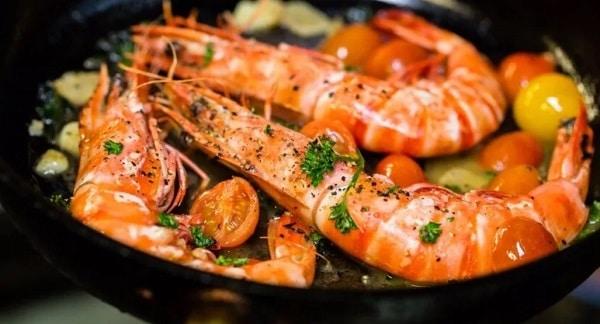 вкусные блюда из морепродуктов с рисом
