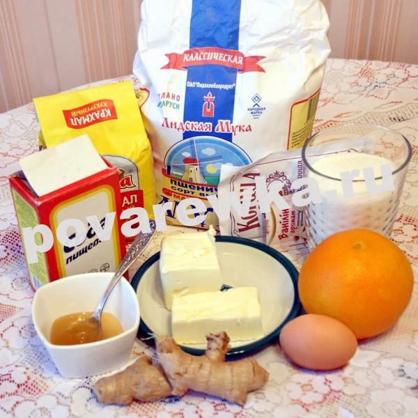 Имбирное печенье: простой и вкусный рецепт
