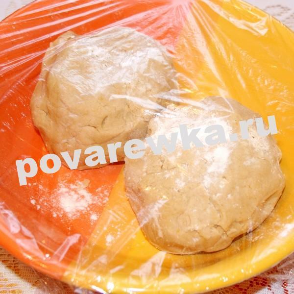 Новогоднее имбирное печенье: тесто