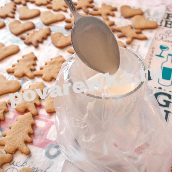 Имбирное печенье: рецепт с глазурью