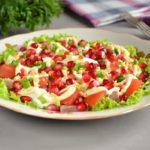 Слоеный салат с мясом: рецепт на праздничный стол