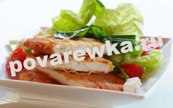 Шницель куриный: рецепт с фото