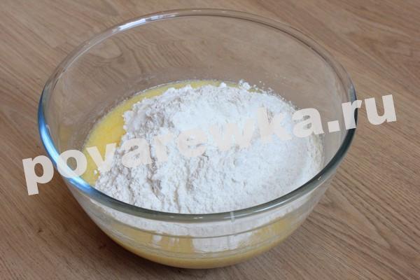 Пирог с мясом в духовке рецепт с фото