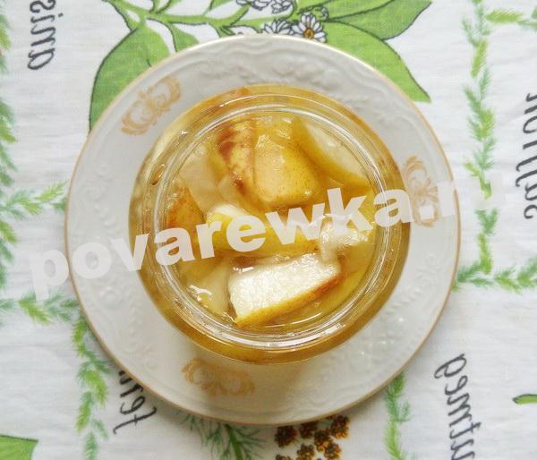 Варенье из груши на зиму: рецепты дольками