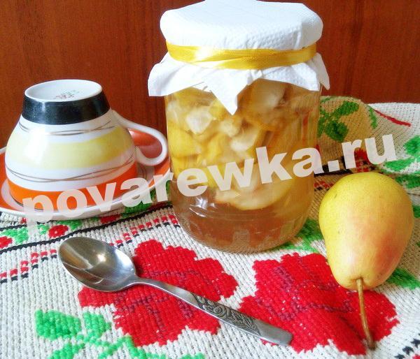 Варенье из груши на зиму: рецепты простые