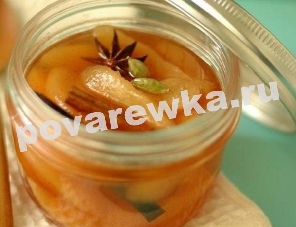 Варенье из груши на зиму: рецепты с корицей