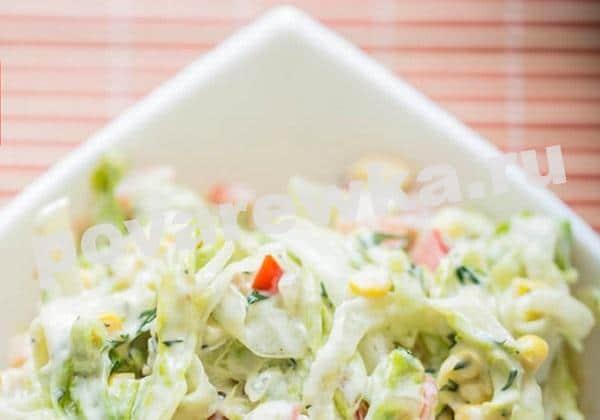 Простой салат с куриной грудкой на Новый год 2021