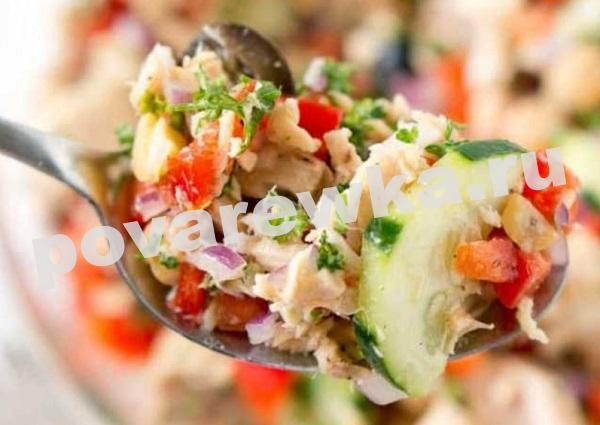 Праздничный салат с тунцом и авокадо: простой и вкусный рецепт