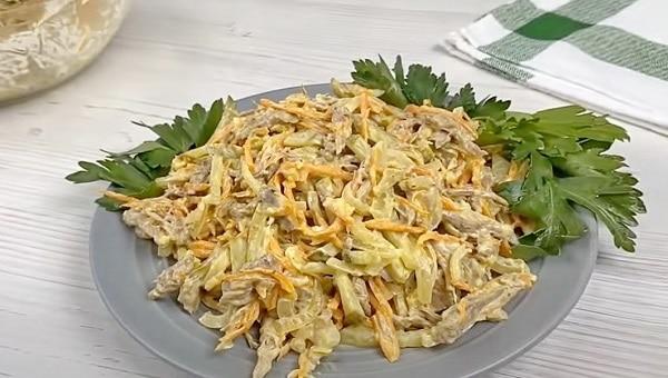 Салат Обжорка классический рецепт